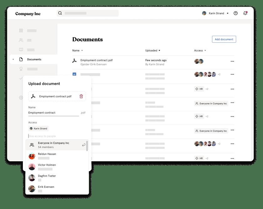 Documents company inc