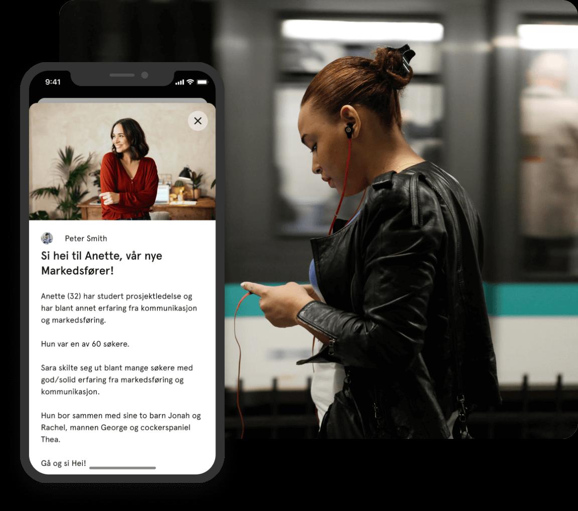 HR på mobil